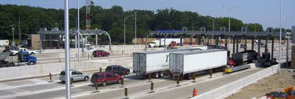 Waukegan Toll Plaza (Plaza 21)