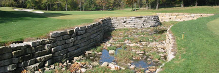 Leawood Hallbrook Country Club Channel Improvements