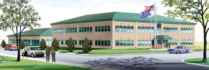 Composite Support Complex & Vehicle Maintenance Facility