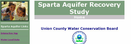 Sparta Aquifer Recovery Study Information Web Site