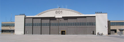 F-16 Maintenance Hangar Modifications